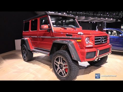 2017 Mercedes Benz G Class G550 4x4² - Exterior and Interior Walkaround - 2016 LA Auto Show