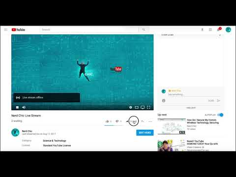 Embedding Your YouTube Live Page In Your Website & Facebook Tutorial For Businesses & Churches