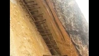 آثار بشرية محيرة في جبال حقال شمال غرب محافظة أضم {د أحمد بن سعيد بن قشاش} 5-6-1438