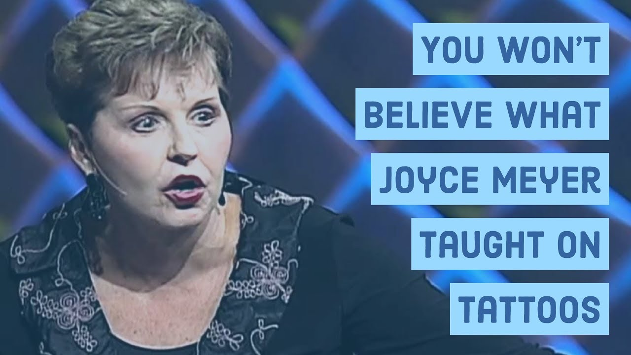 Joyce meyer not a sinner