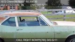 1972 Chevrolet Nova  for sale in KNIGHTSTOWN, IN 46148 at 50