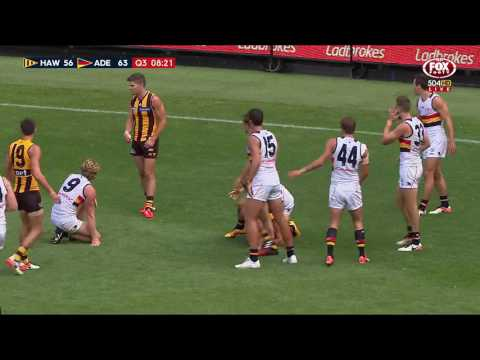 Round Two AFL Highlights: Hawthorn v Adelaide