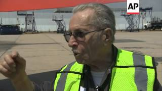 American Airlines celebrates 70-year-career of New York mechanic