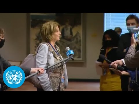 Norway on Ethiopia - Security Council Media Stakeout (6 October 2021) | United Nations