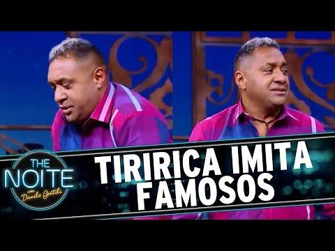 The Noite (30/06/16) -  Tiririca imita Silvio Santos, Faustão e Rezende; qual é o melhor?