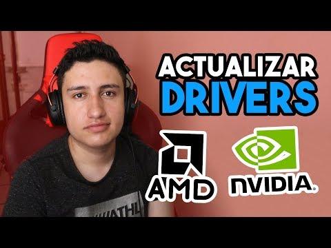 Como ACTUALIZAR Los DRIVERS De Mi TARJETA GRAFICA | NVIDIA O AMD