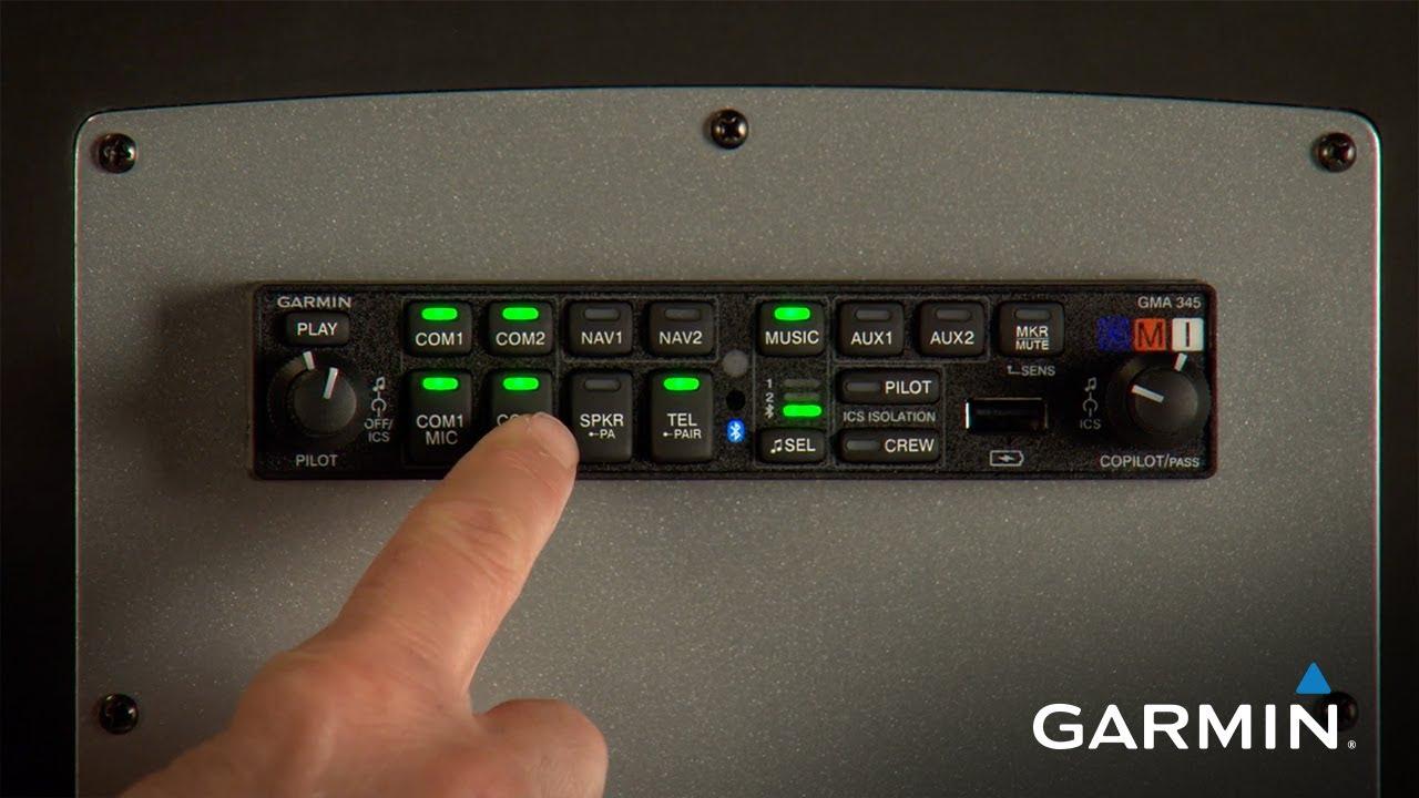 Garmin GMA 345 Audio Panel on