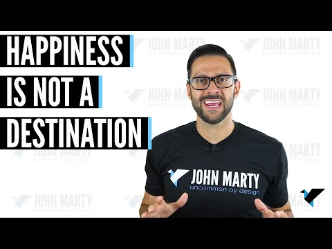 This 1 theory might save your life - Happiness is not a destination