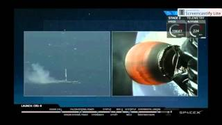 SpaceX CRS-8 Successfully landing on drone ship