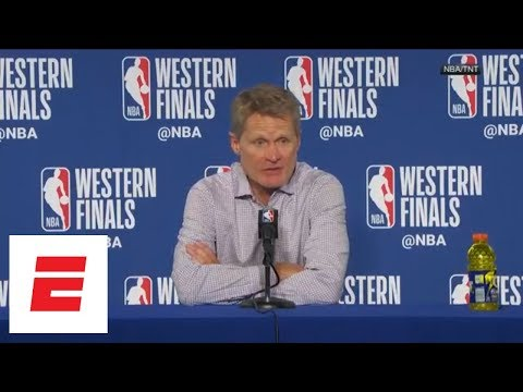 Steve Kerr says while Game 3 performance was great, Warriors need to be prepared for Game 4 | ESPN