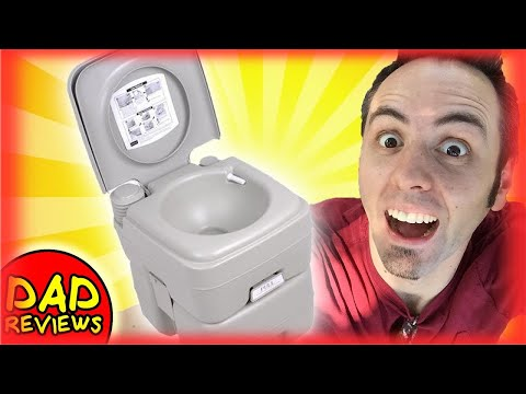 BEST PORTABLE TOILET? | Camco 41541 Portable Toilet Review