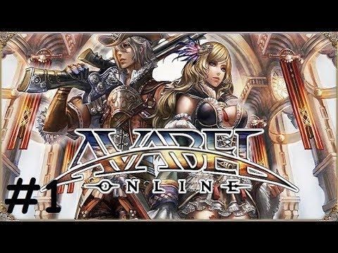 Online RPG AVABEL #1 Gameplay Первый взгляд Обзор Летсплей (Android,APK,iOS) Игра за Warrior