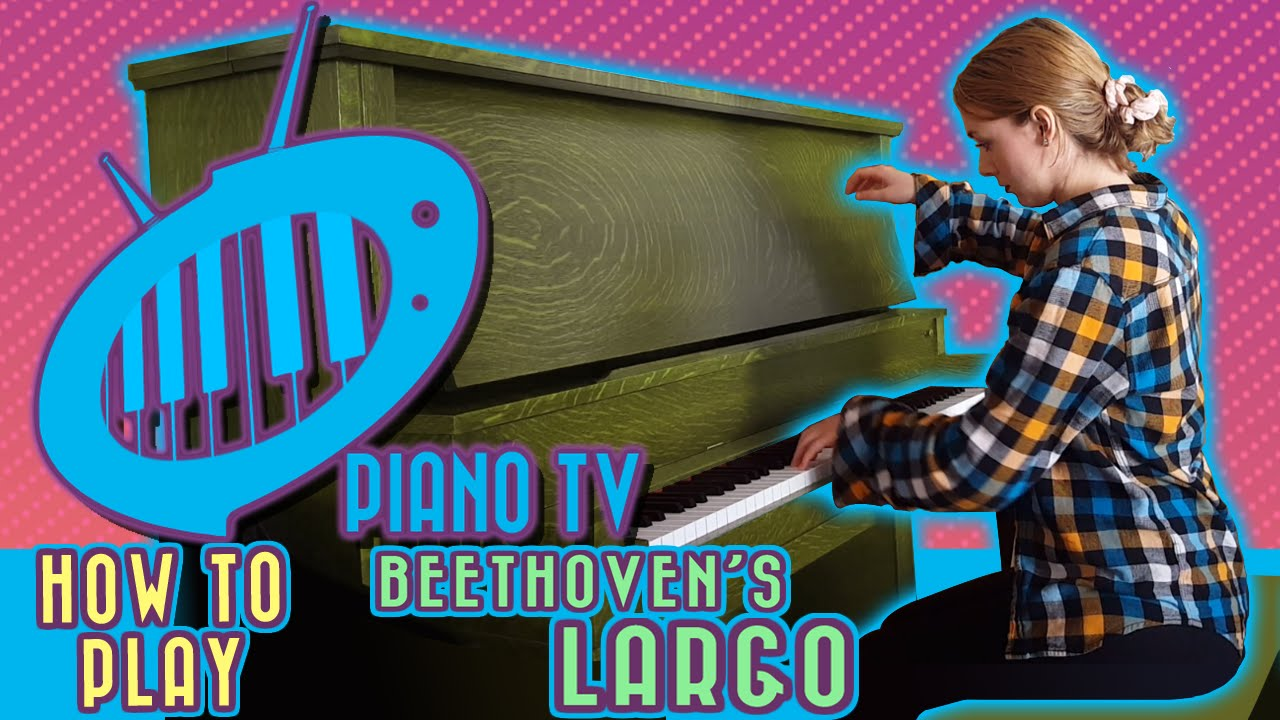 beethoven s third concerto largo intro for beginner piano youtube