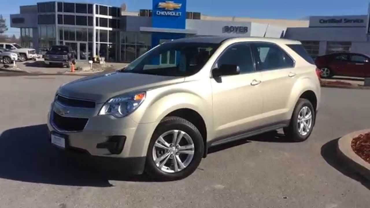 Equinox 2012 chevy equinox ls : 2012 Chevrolet Equinox AWD 4dr LS | Boyer Chevrolet Lindsay - YouTube