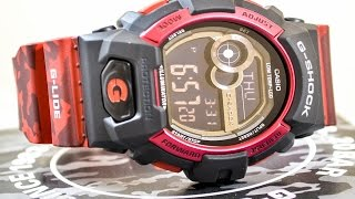 Casio GSHOCK Glide GLS8900CM-4 REVIEW | How To Set Time | LIGHT DISPLAY