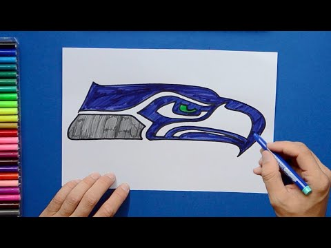 how-to-draw-the-seattle-seahawks-logo-[nfl-team]