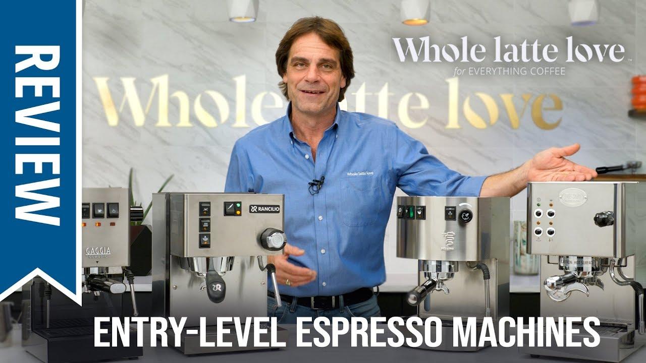 Premium Entry Level Espresso Machines