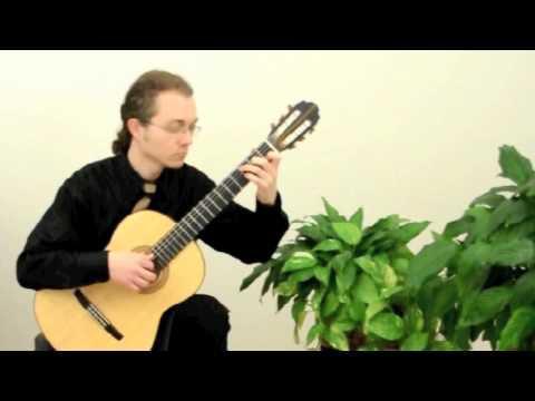Guitar Sonata No. 9 M.S. 84 (Niccolò Paganini) - performed by Max Anisimov