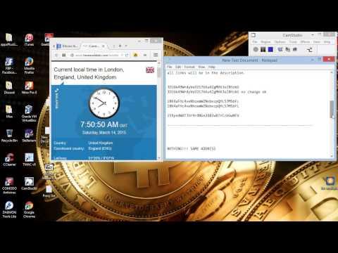 Bitcoin Grabber Live Test