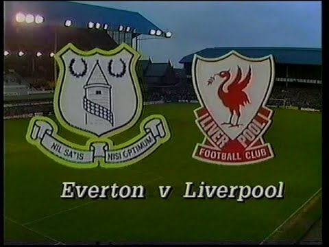 Everton 0 Liverpool 0 23/11/1986