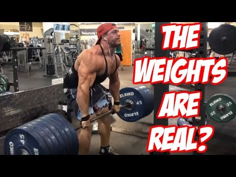 Brad Proves The Weights Are Real and Not Fake