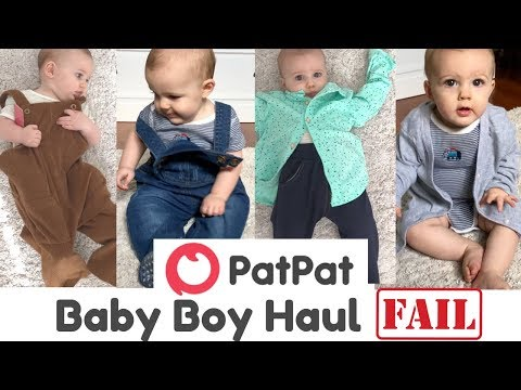 PATPAT BABY BOY CLOTHING HAUL | TRY ON| Aussie Mum Haul