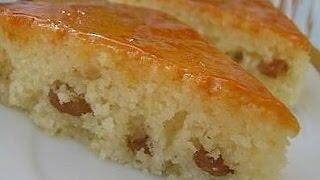 Манник на кефире с изюмом.Вкуснейший воздушный пирог.Выпечка к чаю .A pie to tea.