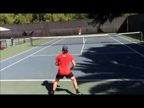 Corran Moore - Weil Tennis Academy (Drills&Point Play)