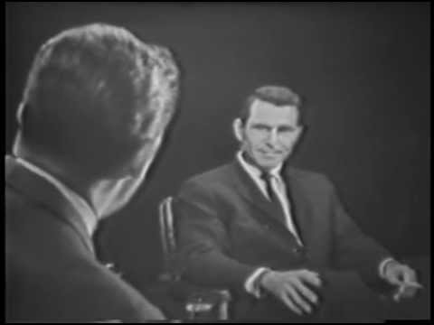 The Twilight Zone 1959 Series Interview with Rod Sterling