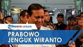 Prabowo Komentari Insiden Penusukan Wiranto, Sebut Memang Tak Bisa Dicegah dan Tak Ada Kecolongan