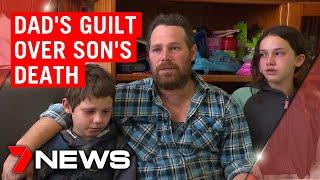 Family's heartbreak after little boy killed in Sydney truck accident   7NEWS
