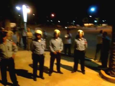 Hmidouch en colère après la répression policière