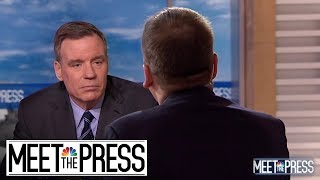 Full Warner: 'Donald Trump Doesn't Have A Great Record Of Telling The Truth' | Meet The Press