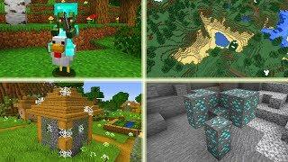 Mega RZADKIE Rzeczy w Minecraft! Najrzadszy Mob! Wioska w Jungli!