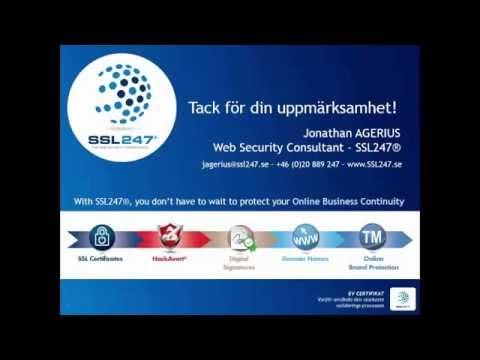 EV (Extended Validation) SSL-certifikat