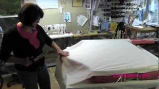 Upholstery How To Build A Tufted Headboard Part 4 Closing The Back