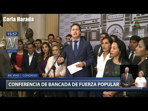 """Daniel Salaverry, vocero de Fuerza popular, le """"sugirió"""" a PPK que renuncie a la presidencia"""