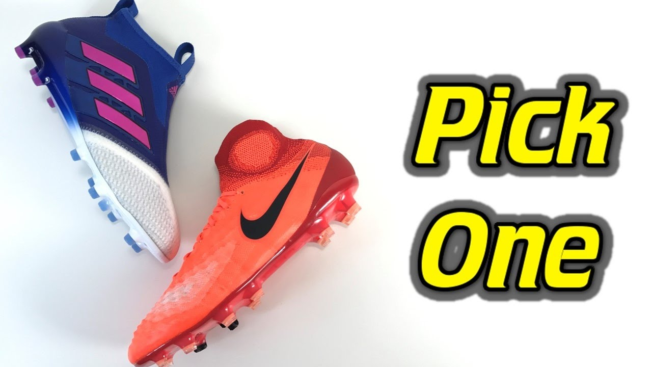 6c9db146c Pick One - Nike Magista Obra 2 vs Adidas ACE 17+ Purecontrol - YouTube