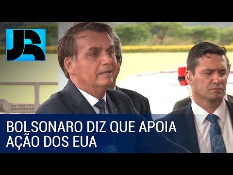 Bolsonaro Diz Que Apoia Ação Americana E Que Brasil Condena O Terrorismo