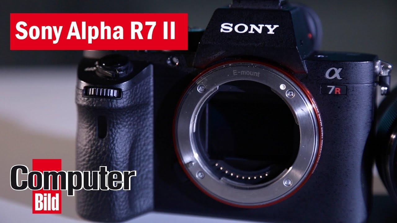 Profi Systemkamera Im Praxis Test Sony Alpha 7r Ii Youtube