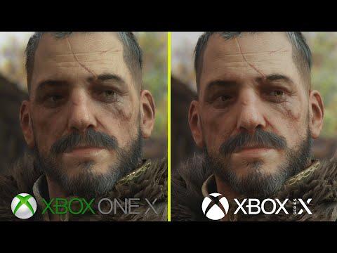 Сравнение обновленной версии A Plague Tale: Innocence на Xbox Series X с версией для Xbox One X