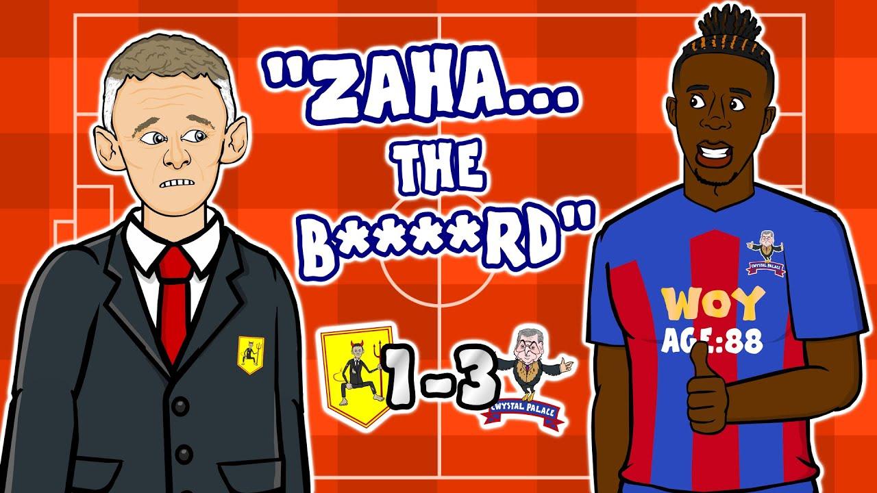 🤯Zaha destroys Man Utd!🤯