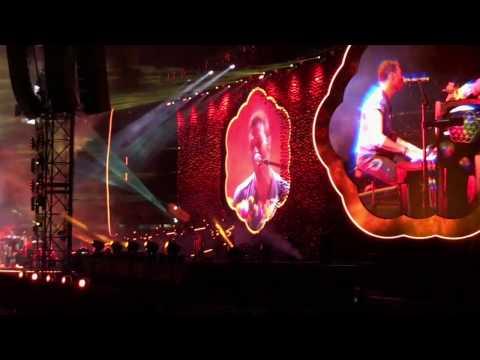 Coldplay live in Melbourne 12 December 2016