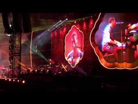 Coldplay live in Melbourne 12 December 2016