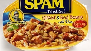 Spam & Red Beans With Rice Food Review