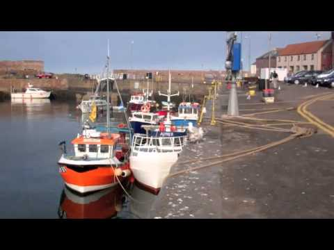 Dunbar Harbour, Scotland.
