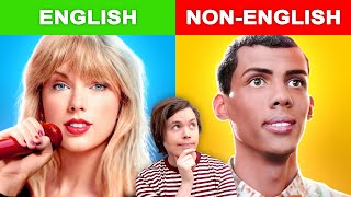 Popular English Songs vs Non-English Songs #2