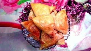 Слоеная узбекская самса! Очень вкусно!