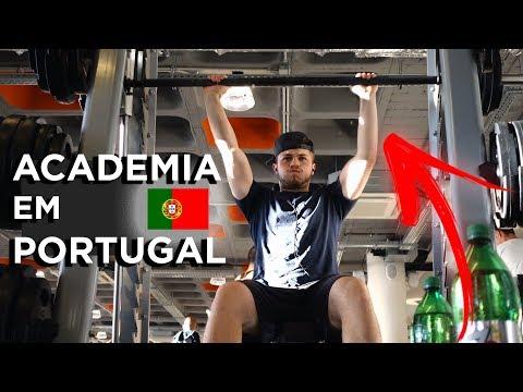💪🏋️COMO É A ACADEMIA EM PORTUGAL?