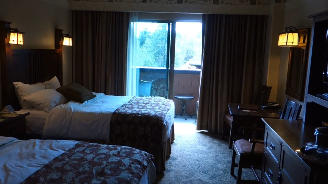 disneyland resort hotel room tour - disney's grand californian